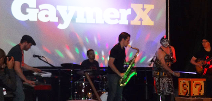 band, Super Soul Brothers, music, stage, GaymerX, GX3, VIP, pre-party, party, opening night
