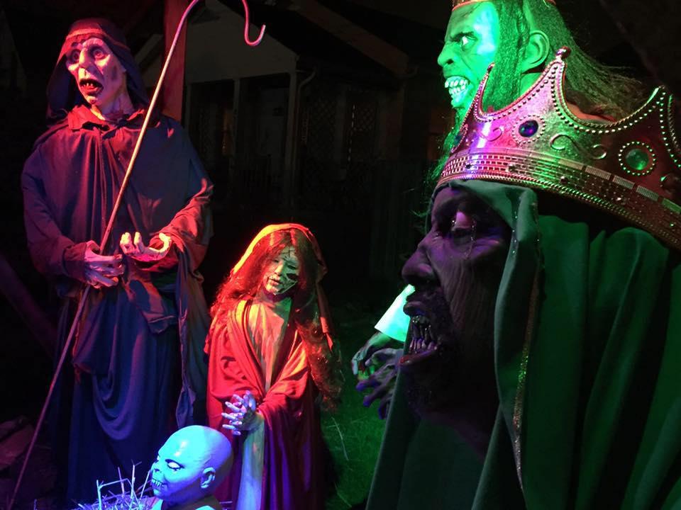 Cincinnati Ohio zombie nativity scene