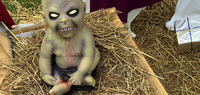 Ohio Scrooges Say No To Zombie Nativity Scene