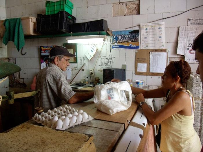 Havana, Cuba, ration market, bodega, supermarket, picture, photograph
