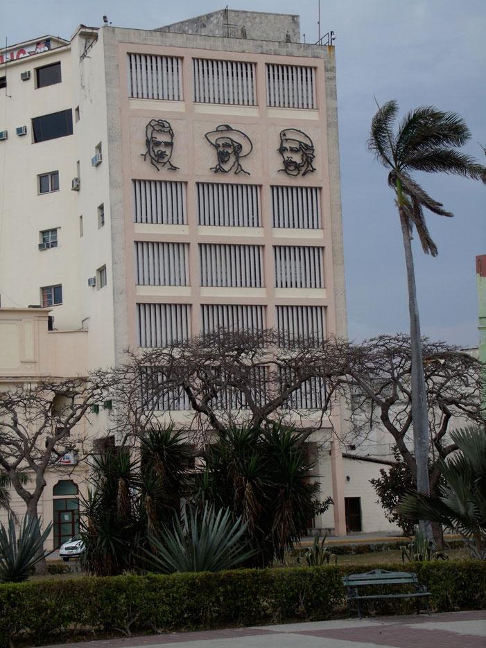 Cuba, Havana, building, city, art, revolutionaries,