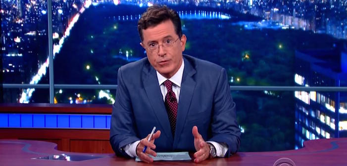 stephen colbert homophobic, stephen colbert, late show, cbs, streaming, ratings, hulu