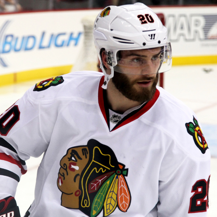 Syrian-American NHL hockey player Brandon Saad
