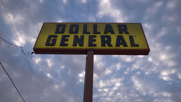 Grand Saline, Dollar General, sunset, Charles Moore, suicide