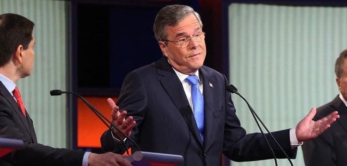 Jeb Bush, Republican, debate, GOP, January 28
