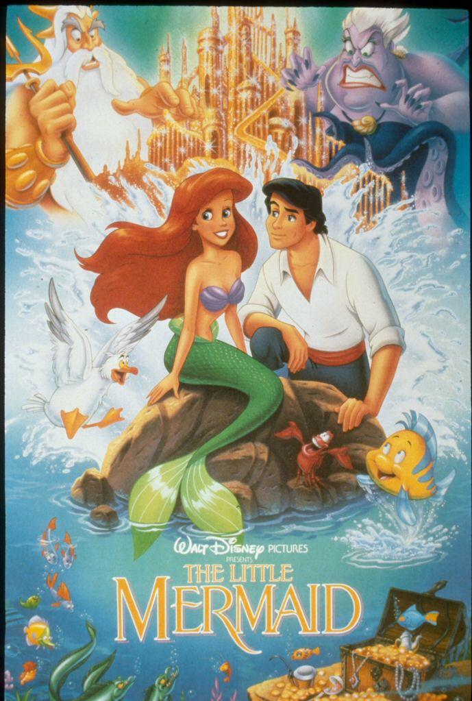 1989 Little Mermaid Poster