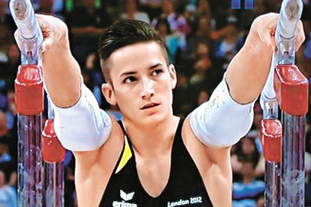 male, hot, sexy, beautiful, gymnast, sports, gymnastics, Marcel Nguyen, Germany