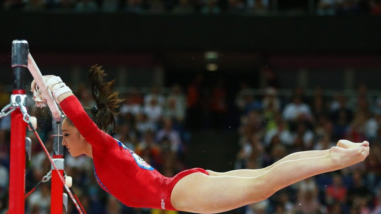 female, hot, sexy, beautiful, gymnast, sports, gymnastics, Aliya Mustafina, Russia