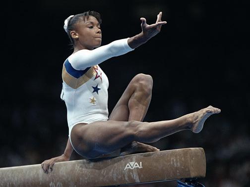 female, hot, sexy, beautiful, gymnast, sports, gymnastics, Dominique Dawes, USA