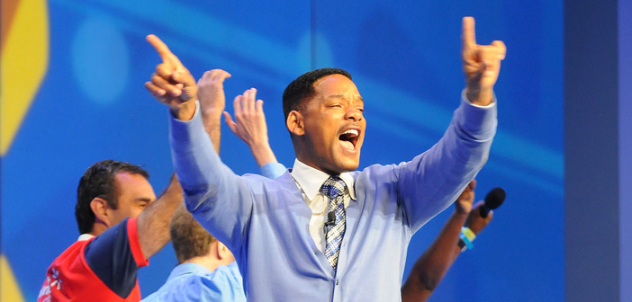 Will Smith at the 2011 Walmart Shareholders meeting
