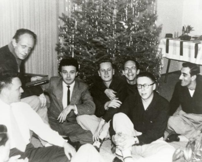 Harry Hay and the Mattachine Society Christmas Party, 1951
