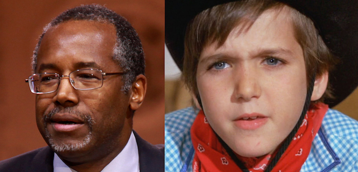 Willy Wonka and the Chocolate Factory, Charlie, film, comedy, GOP, Republican, presidential, candidate, Ben Carson, Mike Teavee