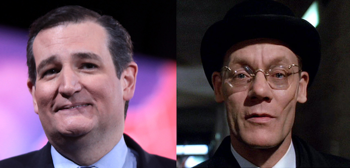 Willy Wonka and the Chocolate Factory, Charlie, film, comedy, GOP, Republican, presidential, candidate, Ted Cruz, Slugworth