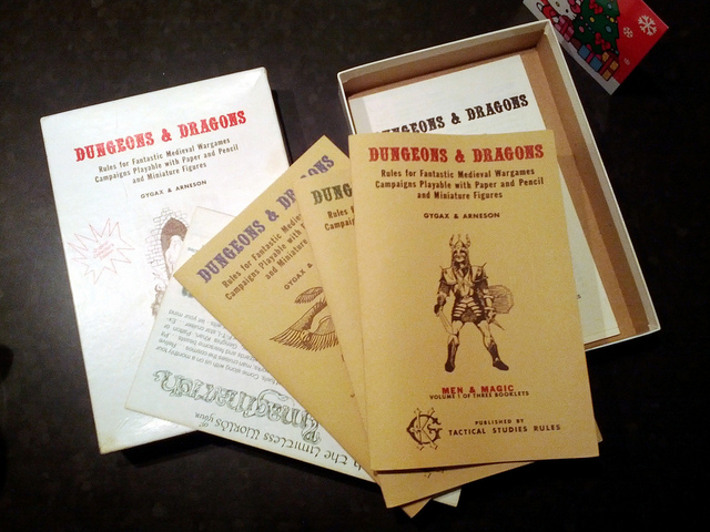 Players Handbooks, Dungeons and Dragons