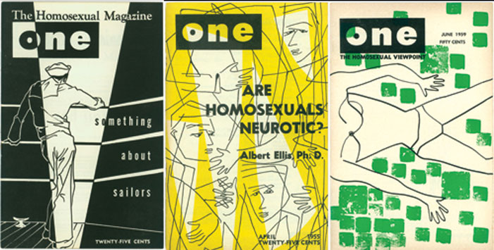 one magazine, gay, homophile marriage, history, queer, banned, covers, are homosexuals neurotic, something about sailors