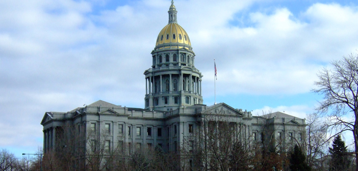 State Capitol in Denver, Colorado