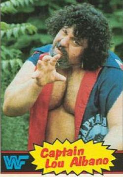 Captain Lou Albano, wrestler, WWF