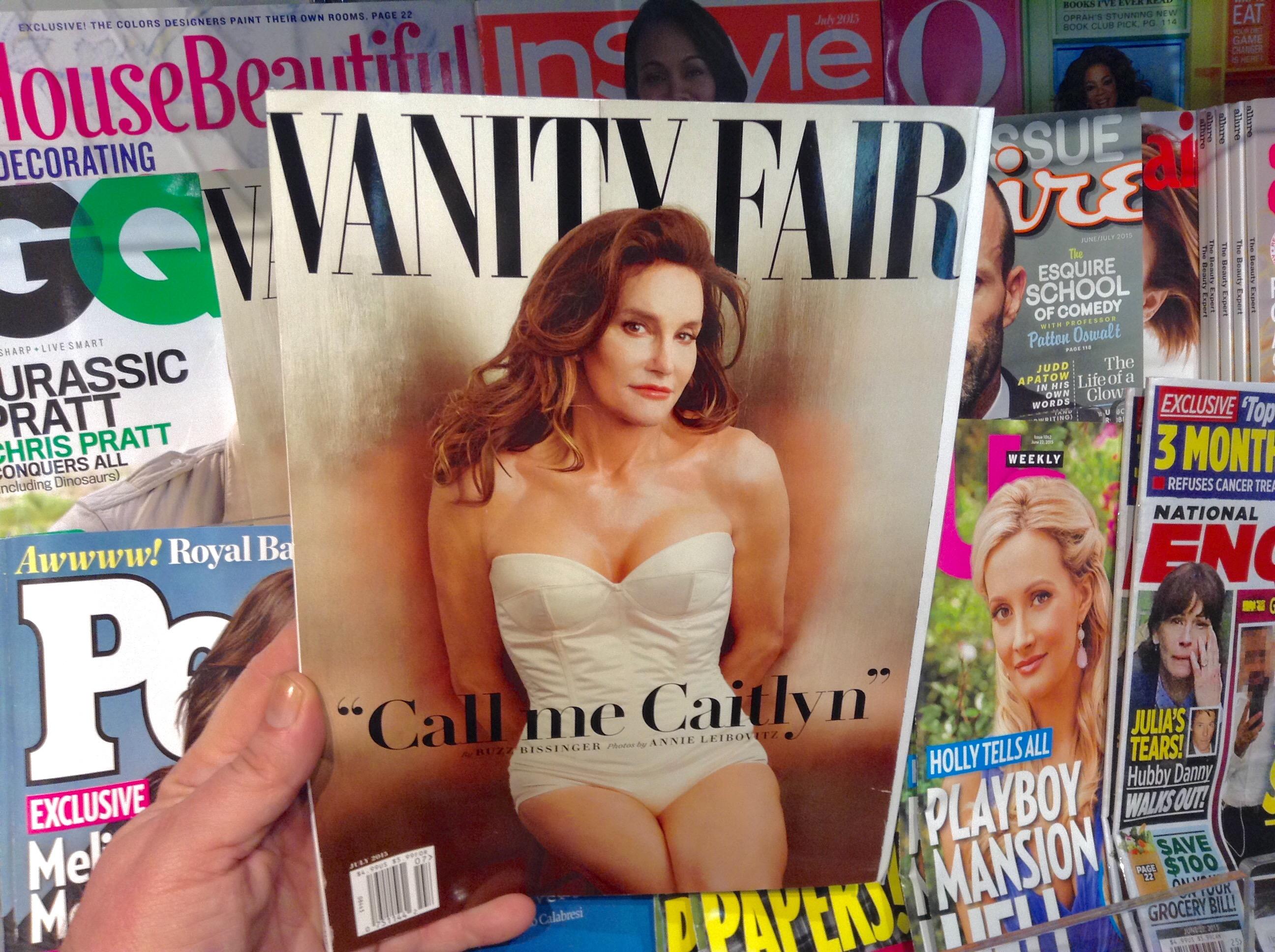 Caitlyn Jenner's famous Vanity Fair cover