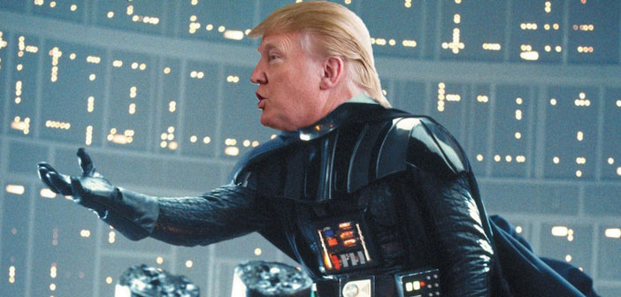 Darth Vader, Donald Trump, Darth Trump, Star Wars, politics, funny
