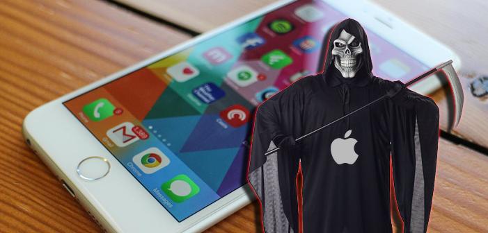 Apple, iPhone 6, phone, error 53, bricked, dead, death, grim reaper