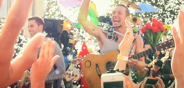 Coldplay, A Sky Full of Stars, Super Bowl, music, video, band