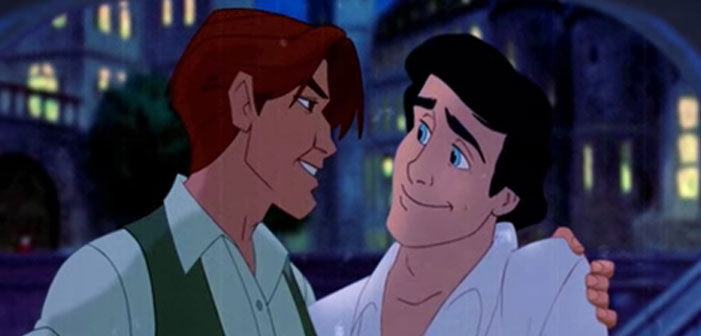 VIDEO: Prince Eric And Dmitri Fall In Love In This Animated Mash-up