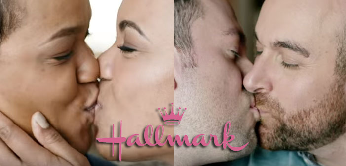 Hallmark Throws LGB Breadcrumbs With Same-Sex Kiss Ads