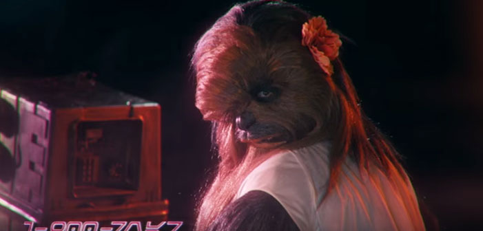 Wookie, Star Wars, phone sex, hotline, 1-900, Chewbacca, female