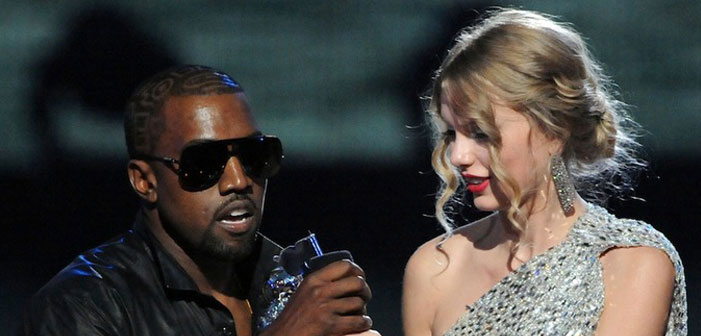 Kanye West, Taylor Swift, musicians, VMA,