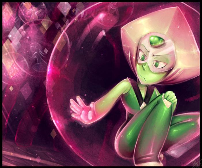 Steven Universe, fan art, cartoon network, sci-fi, fanart, Peridot