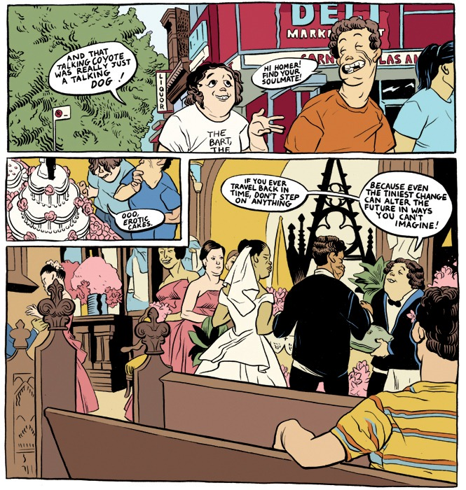 Rebecca Sugar, comic, Don't Cry For Me I'm Already Dead, comic strip, Simpsons, sad, heartbreaking