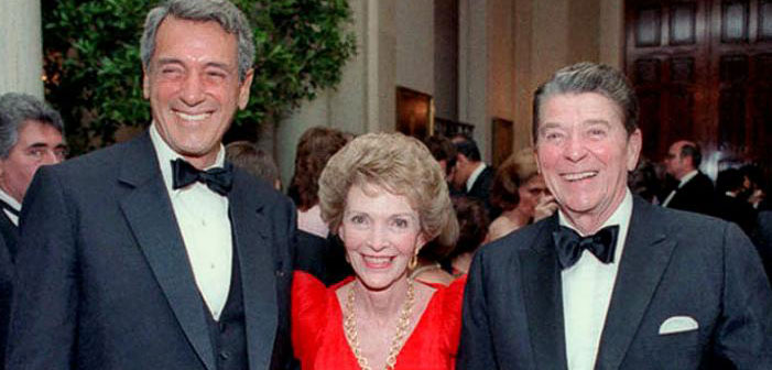 Nancy Reagan, Rock Hudson, Ronald Reagan, politics, White House, AIDS, HIV ronald reagan hiv