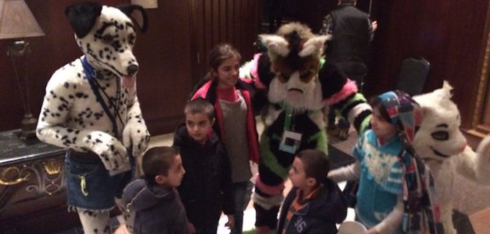furries, vancouvfur, syrian refugees, adorable, cute