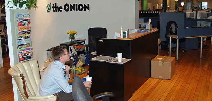 The Onion, office, New York City, NYC, satirical newspaper
