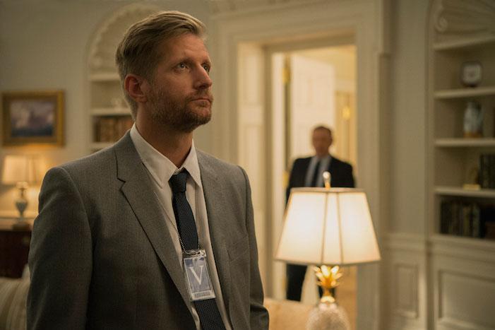 House of Cards, Netflix, Tom Yates, Paul Sparks