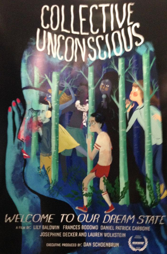 sxsw, 2016, movie poster, film, festival, collective unconscious