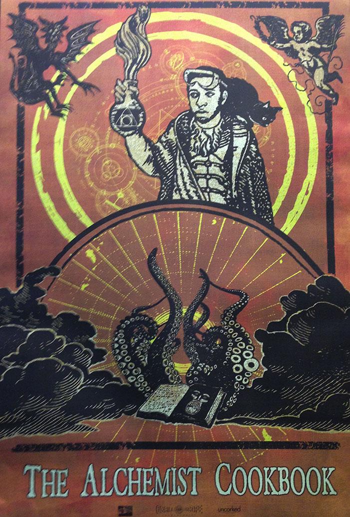 sxsw, 2016, movie poster, film, festival, the alchemist cookbook