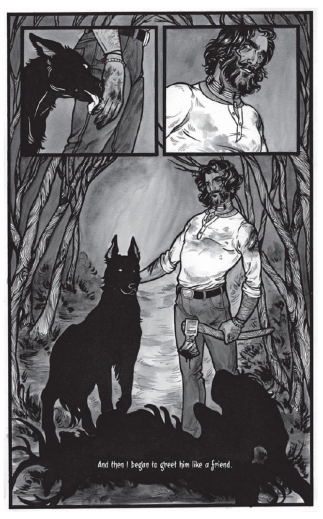 Black Dog by Fyodor Pavlov from The Other Side anthology, page 7