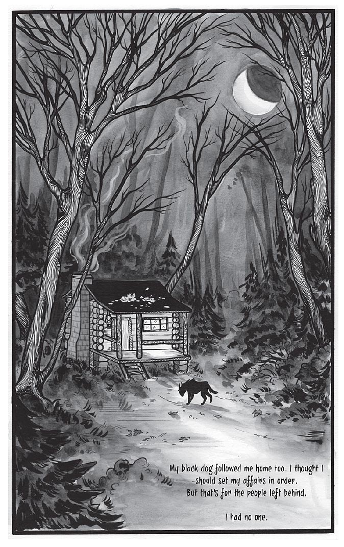 Black Dog by Fyodor Pavlov from The Other Side anthology, page 4