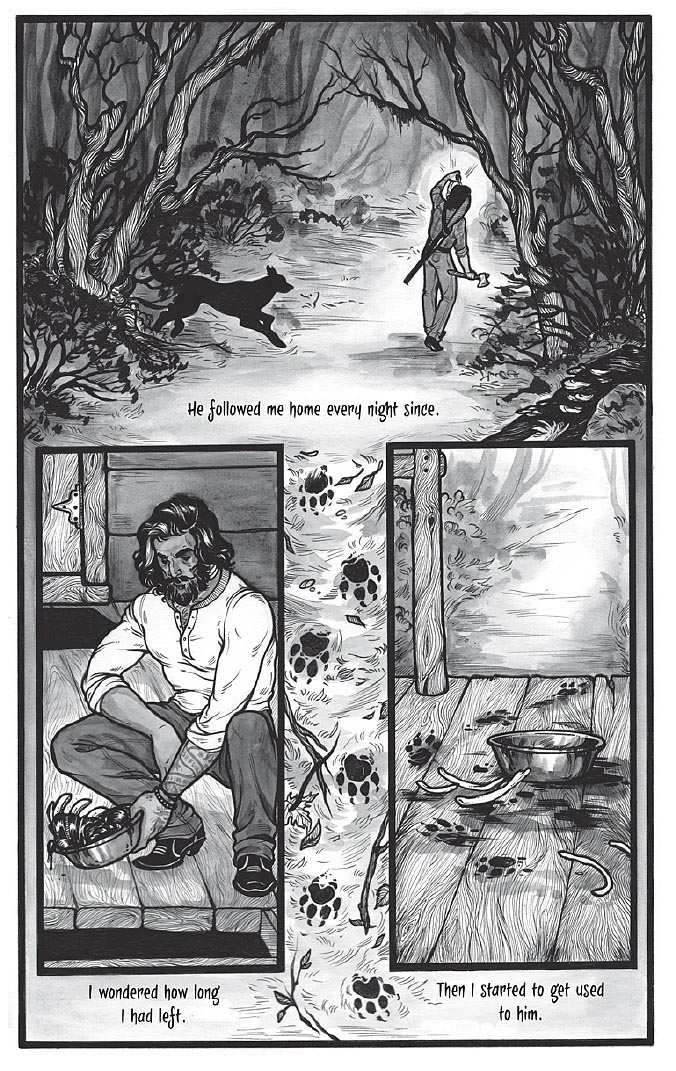 Black Dog by Fyodor Pavlov from The Other Side anthology, page 5