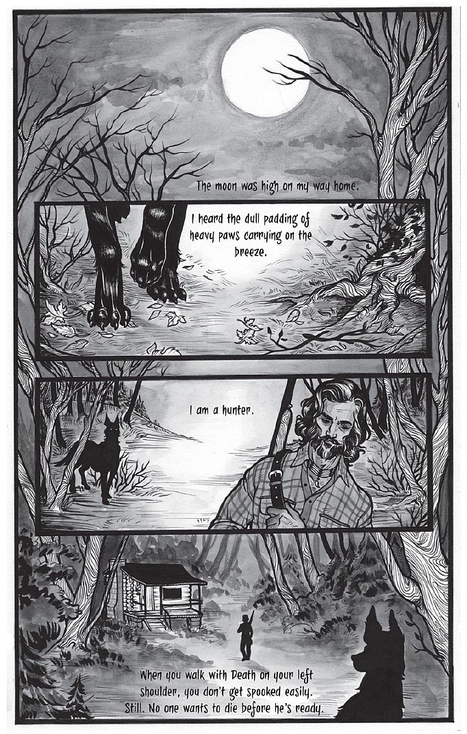 Black Dog by Fyodor Pavlov from The Other Side anthology, page 2