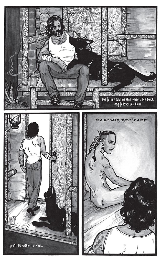 Black Dog by Fyodor Pavlov from The Other Side anthology, page 8