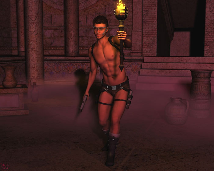Male Tomb Raider