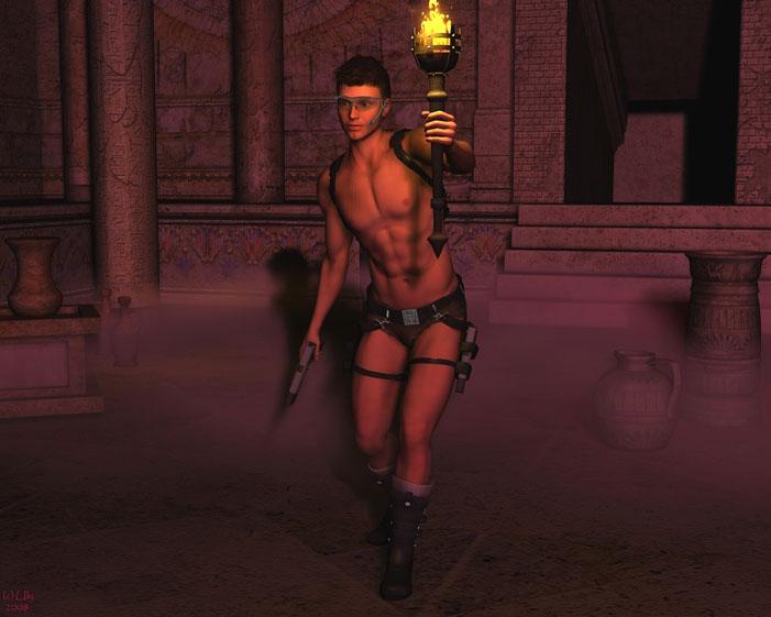 Male Tomb Raider