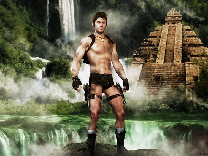 Male Tomb Raider 33