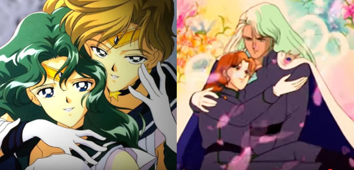 Sailor Moon, anime, Sailor Uranus, Sailor Neptune, Kunzite, Zoisite, anime, TV, cartoon