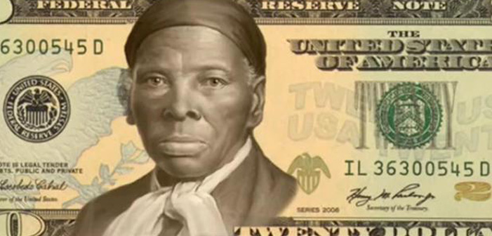 Harriet Tubman, twenty dollar bill, $20, slave, abolitionist