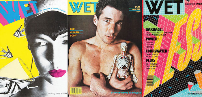 WET Was the Weird '80s Magazine for 'Gourmet Bathers'