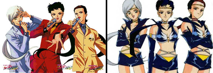 The Sailor Star Lights, Sailor Moon, transgender, TV, anime, animation, LGBT, trans, gender