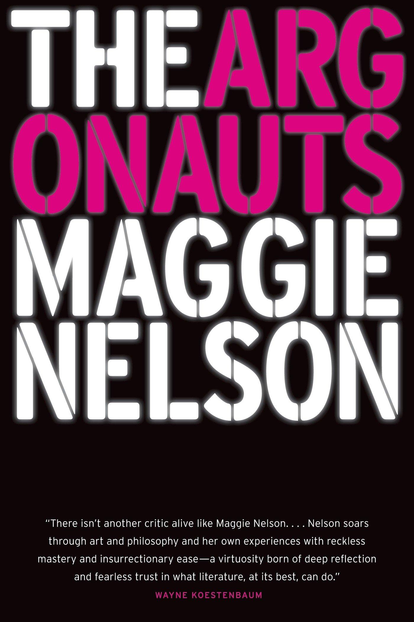 the argonauts, maggie nelson